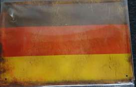 Tac Signs  - Germany Flag black/red/yellow - Tac Signs - TACMk3D10 - TACMk3D10 | Toms Modelautos
