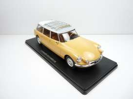 Citroen  - ID 19 Break yellow - 1:24 - Magazine Models - 24CitroenID19 - mag24CitID19 | Toms Modelautos