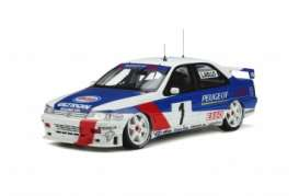 Peugeot  - 405 1995 blue/white - 1:18 - OttOmobile Miniatures - OT364 - otto364 | Toms Modelautos