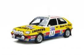Vauxhall  - Chevette 1983 yellow/white/blue - 1:18 - OttOmobile Miniatures - OT370 - otto370 | Toms Modelautos