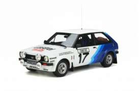 Ford  - Fiesta 1979 white/blue - 1:18 - OttOmobile Miniatures - OT894 - otto894 | Toms Modelautos