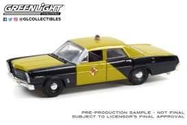 Ford  - Custom 1967 black/gold - 1:64 - GreenLight - 28080A - gl28080A | Toms Modelautos