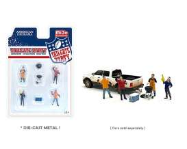 Figures  - Tailgate Party 2021  - 1:64 - American Diorama - 76470 - AD76470 | Toms Modelautos