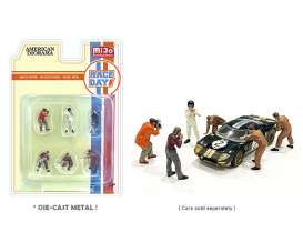 Figures  - Race Day 2021  - 1:64 - American Diorama - 76475 - AD76475 | Toms Modelautos