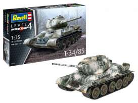 Military Vehicles  - T-34/85  - 1:35 - Revell - Germany - 03319 - revell03319 | Toms Modelautos