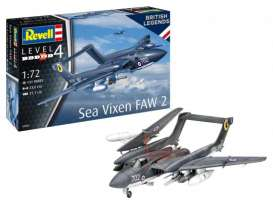 Military Vehicles  - Sea Vixen Faw 2  - 1:72 - Revell - Germany - 03866 - revell03866 | Toms Modelautos