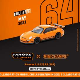 Porsche  - 911 GT3 RS orange - 1:64 - Tarmac - T64MC-001-OR - TC-T64MC001OR | Toms Modelautos