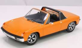 Porsche  - 914 orange - 1:18 - Norev - 187688 - nor187688 | Toms Modelautos