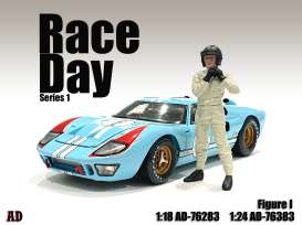Figures  - Race Day Figure I 2021  - 1:24 - American Diorama - 76383 - AD76383 | Toms Modelautos