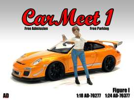 Figures  - Car Meet Figure I 2021  - 1:24 - American Diorama - 76377 - AD76377 | Toms Modelautos