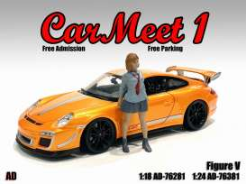 Figures  - Car Meet Figure V 2021  - 1:18 - American Diorama - 76281 - AD76281 | Toms Modelautos