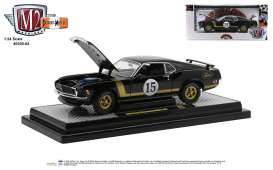 Ford  - Mustang 1970 black - 1:24 - M2 Machines - 40300-84B - M2-40300-84B | Toms Modelautos