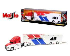Mack  - Anthum  *BRE* 2021 white/red/blue - 1:64 - Maisto - 12418BRE - mai12418BRE | Toms Modelautos