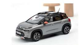 Citroen  - C3 2021 grey/black - 1:43 - Norev - 155336 - nor155336 | Toms Modelautos
