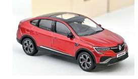 Renault  - Arkana 2021 red - 1:43 - Norev - 517683 - nor517683 | Toms Modelautos