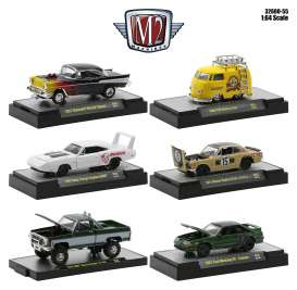 Assortment/ Mix  - various - 1:64 - M2 Machines - 32600-55 - M2-32600-55 | Toms Modelautos