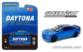 Dodge  - Charger Daytona 392 Hemi 2018 blue/black - 1:64 - GreenLight - 51424 - gl51424 | Toms Modelautos