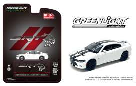 Dodge  - Charger SRT Hellcat 2018 white/black - 1:64 - GreenLight - 51425 - gl51425 | Toms Modelautos