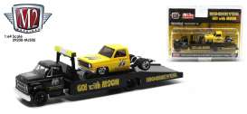 Chevrolet  - C60 Truck & GMC Sierra 1968 yellow/black - 1:64 - M2 Machines - 39200MJS05 - M2-39200MJS05 | Toms Modelautos
