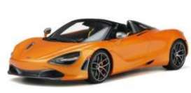 McLaren  - 720S 2018 orange - 1:18 - GT Spirit - GT819 - GT819 | Toms Modelautos