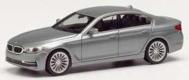 BMW  - 5 Series Limo blue metallic - 1:87 - Herpa - H430692-003 - herpa430692-003 | Tom's Modelauto's
