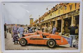 Tac Signs  - Ferrari 1953 orange/white - Tac Signs - TACMk3D20 - TACMk3D20 | Toms Modelautos