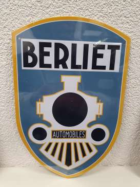 Tac Signs  - Berliet white/blue/yellow - Tac Signs - TACMk3D28 - TACMk3D28 | Toms Modelautos