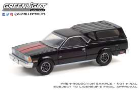 Chevrolet  - El Camino 1981 black/red - 1:64 - GreenLight - 30310 - gl30310 | Toms Modelautos
