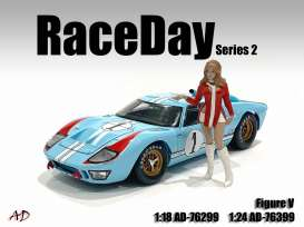 Figures  - Race Day II Figure V 2021  - 1:24 - American Diorama - 76399 - AD76399 | Toms Modelautos