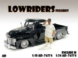 Figures  - Lowriders Figure II 2021  - 1:18 - American Diorama - 76274 - AD76274 | Toms Modelautos