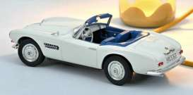 BMW  - 507 1957 white - 1:18 - Norev - 183232 - nor183232 | Toms Modelautos