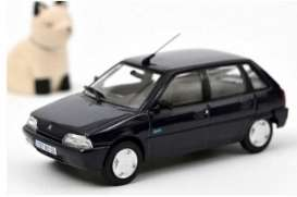 Citroen  - AX 1995 blue - 1:43 - Norev - 155160 - nor155160 | Toms Modelautos