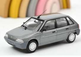 Citroen  - AX 1992 grey - 1:43 - Norev - 155161 - nor155161 | Toms Modelautos